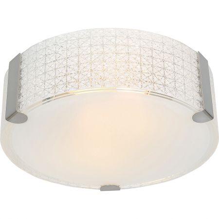 Plafoniera Star-Light E27, 2x60W, alb pentru hol sau bucatarie