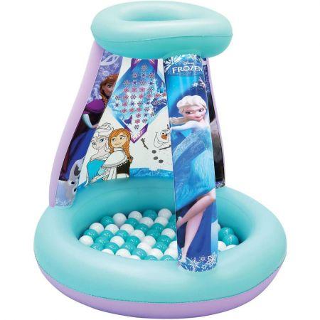 Piscina gonflabila cu 20 bile Disney Frozen - distractie si exercitii fizile pentru copii