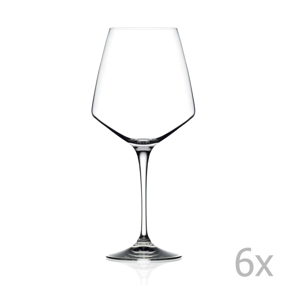 Set 6 pahare pentru vin spumant RCR Cristalleria Italiana Alberta