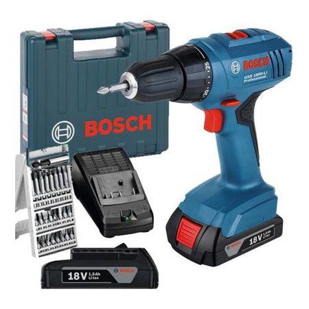 Surubelnita cu acumulator Bosch Professional GSR 1800 LI   Set 25 biti
