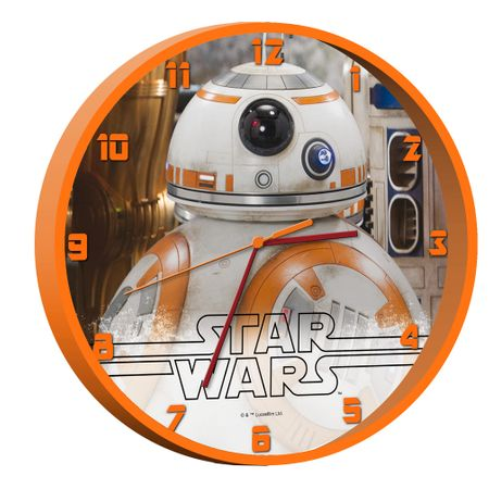 Ceas de perete Star Wars orange, camera baieti