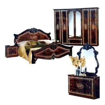 Set Dormitor italian clasic nuc lucios VERSACE, maro, vintage