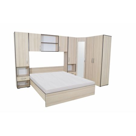 Set Dormitor Madrid, Ulm Deschis/crem, clasic