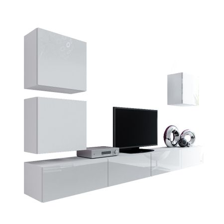 Set living camera de zi Vigo 22 alb/alb lucios