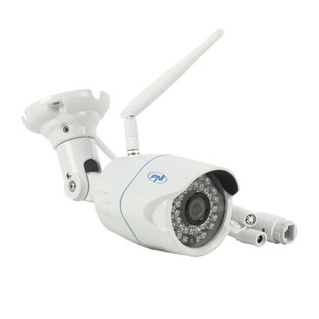 Camera supraveghere video PNI House IP31 1MP 720P wireless cu IP de exterior si interior si slot microSD