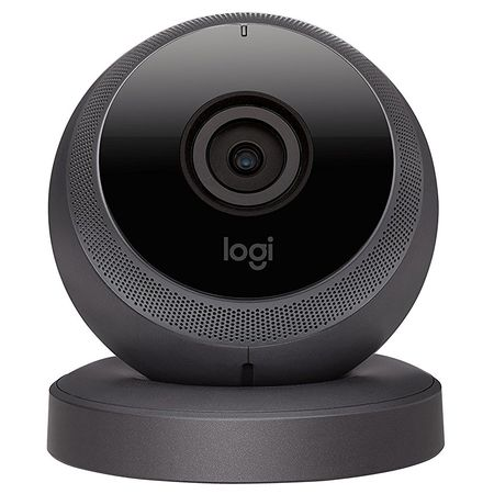 Camera de supraveghere Logitech Circle Home Security, 1080p, Microfon, Neagra