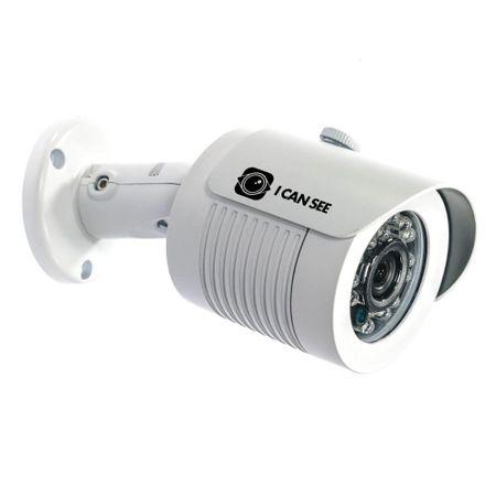 Camera de Supraveghere ICANSEE, Exterior, Color, HD-SDI, Model ICSS-HD2400, Full HD 1080p, Senzor Imagine SONY CMOS, Lentila Fixa 3,6mm, Night Vision 20 metri, Meniu OSD, 8 X Zoom Optic, IP66, Carcasa