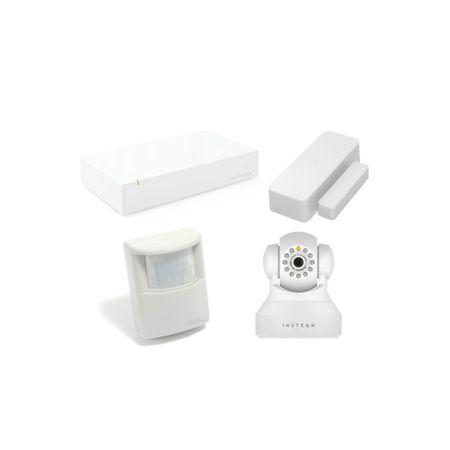 Pachet Supraveghere Apartament Basic Insteon Wireless, Alb