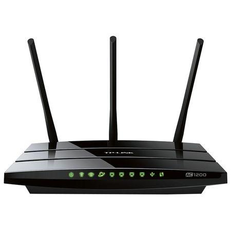 Router wireless TP-LINK Archer C1200, Dual Band Gigabit, WLAN, 3 antene