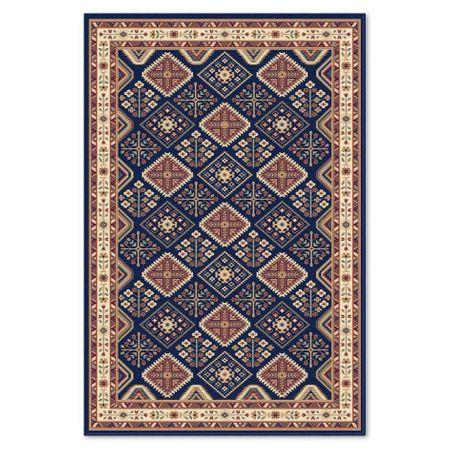 Covor in carouri Atlas 8449-1-41311, 060 x 110 cm, Multicolor, modern