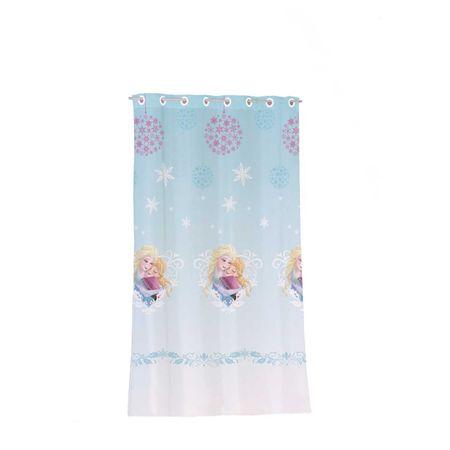 Disney perdea copii Frozen albastra 140x240 cm