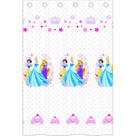 Disney perdea Princess alb 140x240 cm