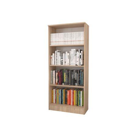 Biblioraft 3 Polite, Sonoma, 70 x 32 x 159 cm crem