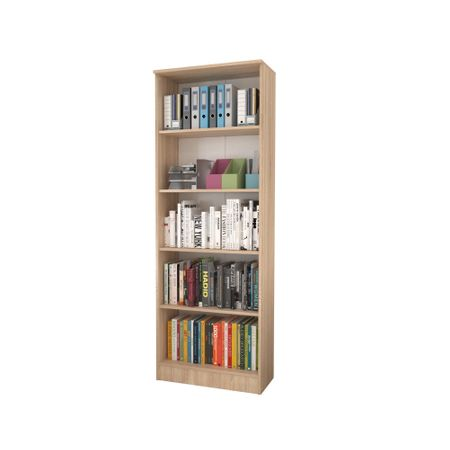 Biblioraft 4 Polite, Sonoma, 70 x 32 x 200 cm crem