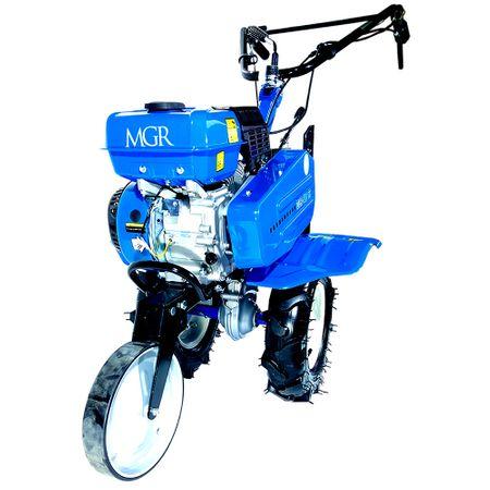 Pachet Motosapa MGR 210, 7 CP roti cauciuc