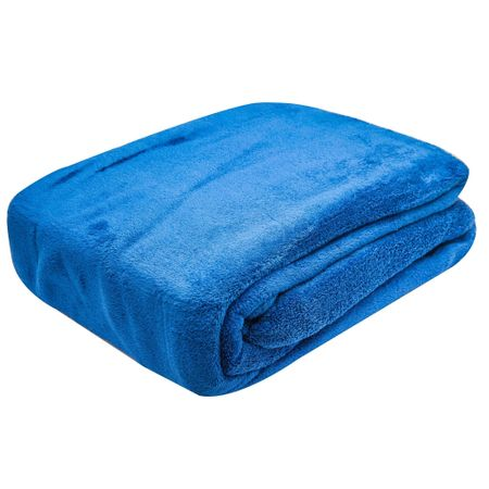 Patura din microfibra Home Blanket, 150x200 cm, Albastru
