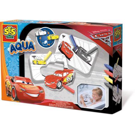 Set de colorat pentru baie - SES Aqua - Disney Cars 3