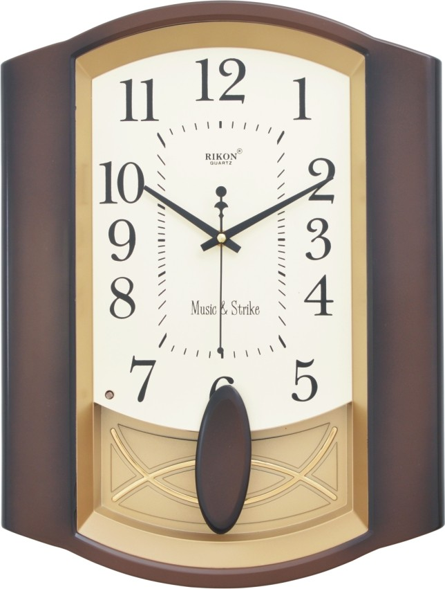 Ceas muzical de perete cu pendulă RIKON-12051