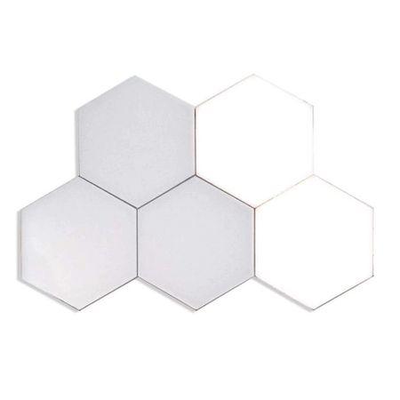 Lampa modulara de perete, LED, 10 hexagoane, 12W, comutare prin atingere (touch)