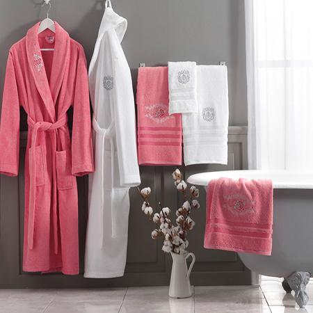 Halate de baie pentru femei - pufoase cu gluga, din bumbac, diferite culori si marimi