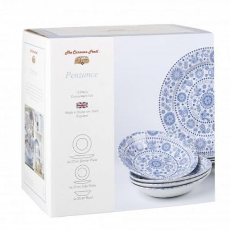 Set 12 piese ceramica Churchill, colectia Penzance, in cutie cadou