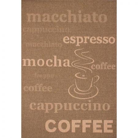 Covor pentru iubitorii de cafea -  Polipropilena Fir Impletit 80 x 150 cm