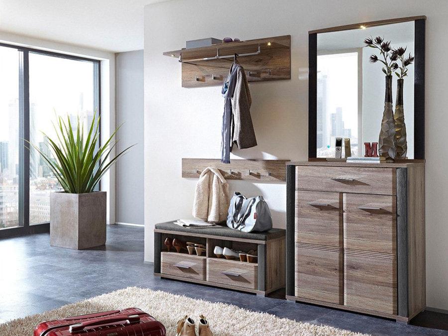 Cuiere crem si seturi de mobila pentru un hol in tendinte actuale