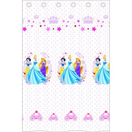 Perdea Princess alb 140x240 cm, Disney - camera fetitei