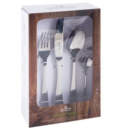 Set tacamuri Sweet Basic by Villeroy&Boch, 30 piese, inox