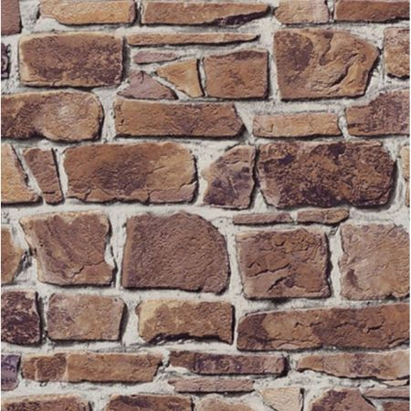 Tapet cu model piatra maro cu gri, rola de 5 mp