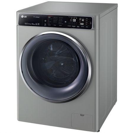 Masina de spalat rufe LG F14U1JBS6, 10 KG, 1400 rpm, Clasa A+++, Argintiu