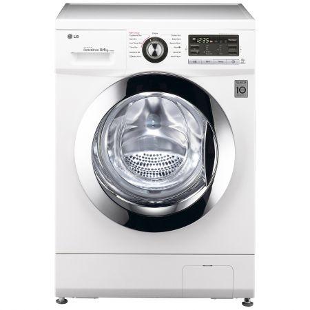 Masina de spalat rufe cu uscator LG F1496ADP3, Inverter Direct Drive, Spalare 8 kg/Uscare 4 kg, 1400 RPM, Clasa B, Alb