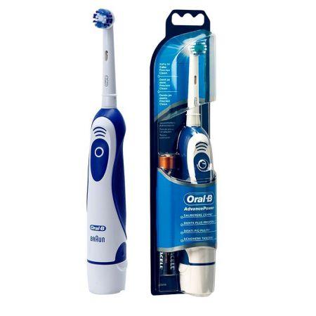 Periuta electrica ORAL-B Advance Power DB4010, 9600 rotatii/minut, Precision Clean, alb/albastru