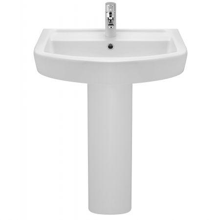 Lavoar cu picior Pyramis ELATIA 600, Ceramica, 600x450mm