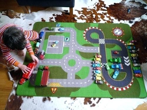 Cum alegi un covor pentru copii, cu sosea - perfect pentru joaca? Sfaturi si recomandari