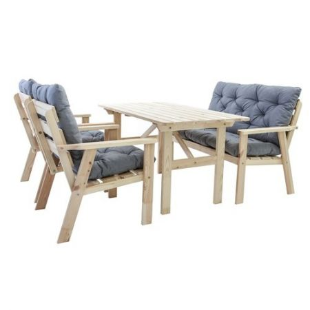 Set mobilier gradina Hanko Natur
