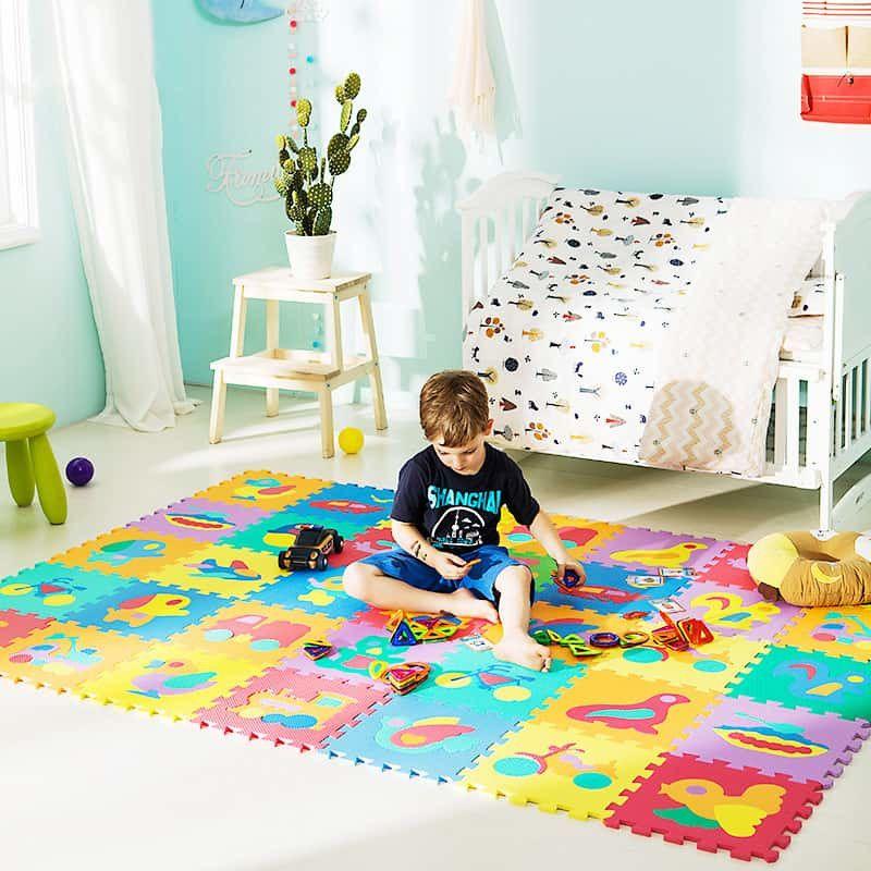 De ce sa alegi un covor din puzzle spuma pentru bebelusi? Sfaturi si recomandari